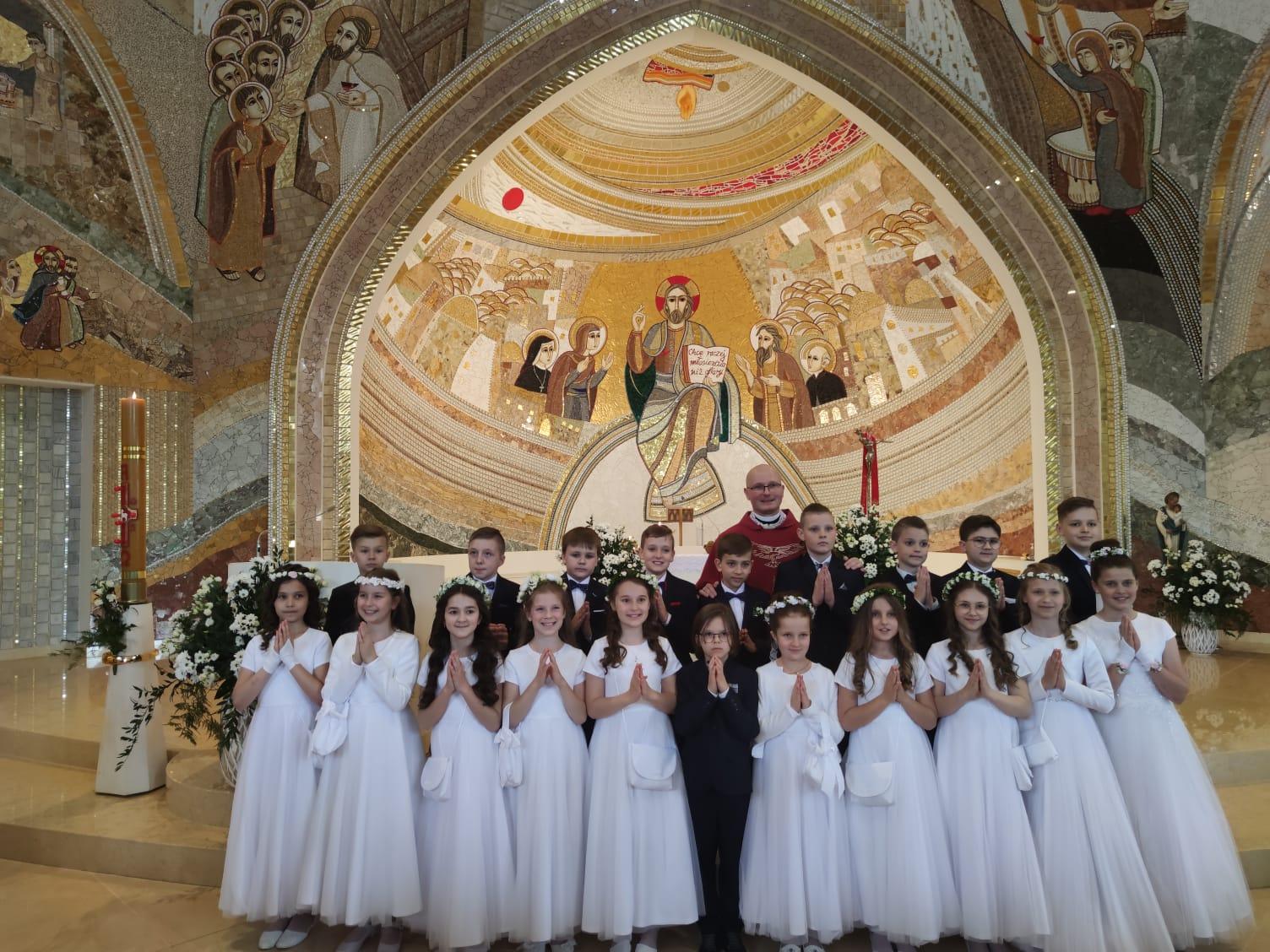 Uroczystość Pierwszej Komunii Świętej